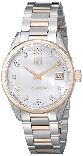 TAG Heuer Women's Carrera Analog Display Swiss Quartz Two Tone Watch