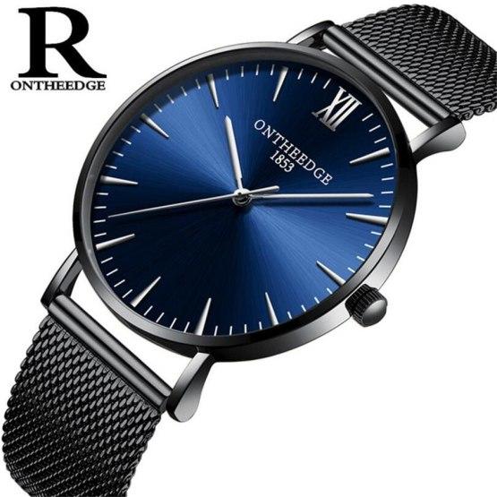 Top Brand Luxury Men's Watch Waterproof Fashion Simple Clock Male Watches