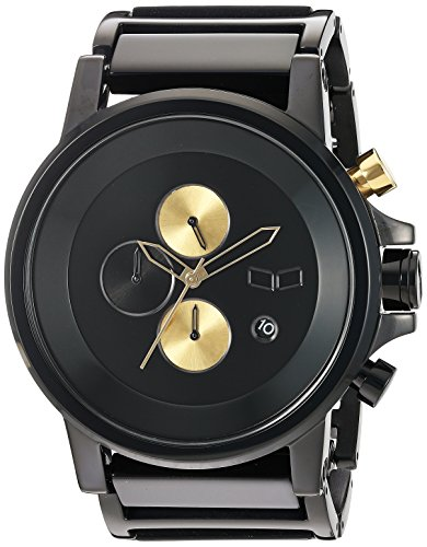 Vestal 'Plexi Acetate' Quartz and Stainless-Steel-Plated Dress Watch