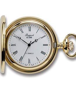 Oxford Hunter Case Pocket Watch - Gold