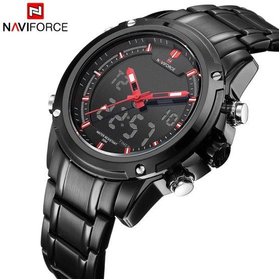 New Top Luxury Brand NAVIFORCE Men Waterproof Sports Military Watches