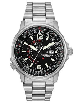 Citizen Men's Eco-Drive Promaster Nighthawk Dual Time Watch