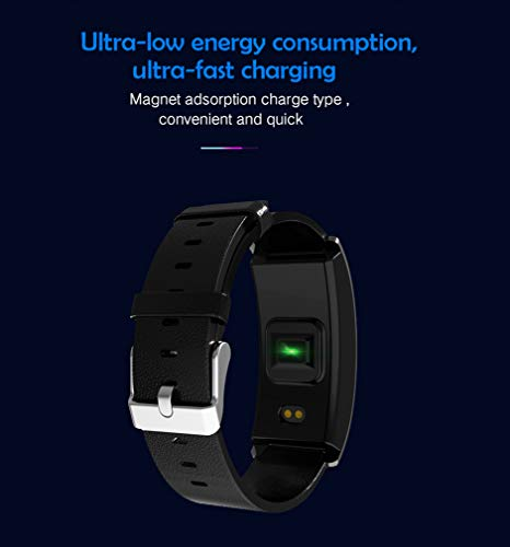 JIHUIA HD Color Screen Smart Watches Waterproof Heart Rate Monitor More Features