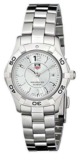 """TAG Heuer Women's """"Aquaracer"""" Stainless Steel Dive Watch"""