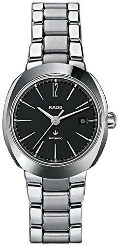 Rado D-Star Black Dial Stainless Steel Ladies Watch R15514153