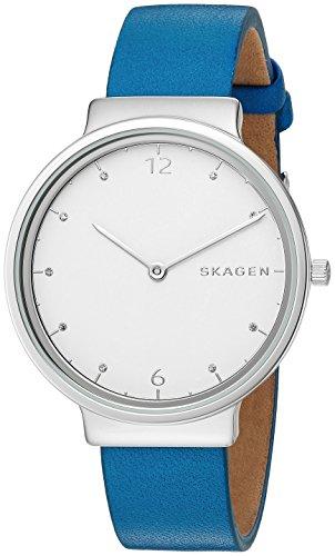 Skagen Women's SKW2610 Ancher Blue Leather Watch