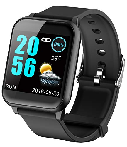 Fitness Tracker ECG Heart Rate Monitor Blood Pressure Smart Watches