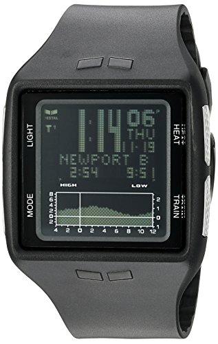 Vestal Unisex Brig Digital Square Black Watch
