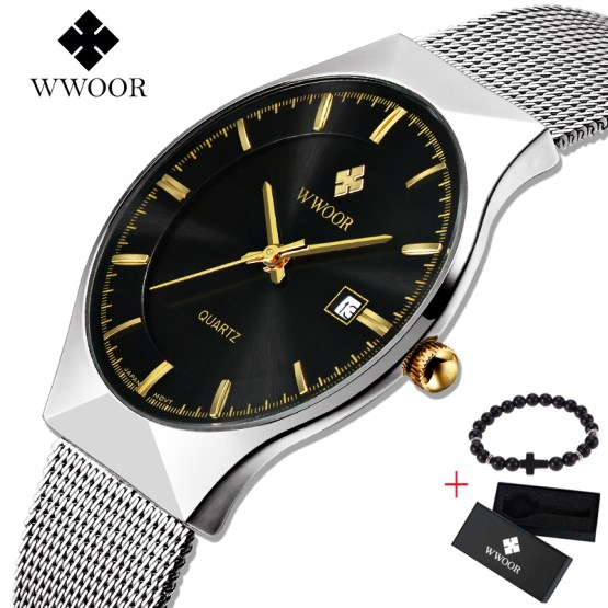 Men's Watches New Top Brand Luxury Waterproof Ultra Thin Date Clock Watch