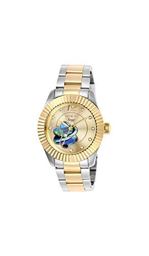 Invicta Angel Crystal Gold Dial Ladies Watch 27442