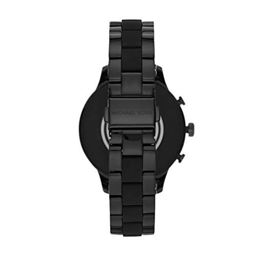 Michael Kors Access Womens Runway Touchscreen Smartwatch Michael Kors Access Womens Runway Touchscreen Smartwatch Stainless Steel Bracelet watch, Black, MKT5058