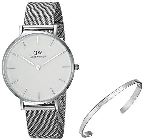 Daniel Wellington Gift Set, Classic Petite Sterling 32mm Watch