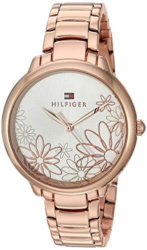 Tommy Hilfiger Women's Leila Quartz Watch with Strap, Rose Gold