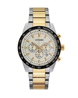 Men's Two-Tone Citizen Chronograph Steel Watch