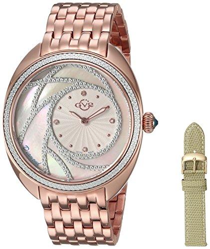 GV2 by Gevril Ancona Womens Diamond Swiss Quartz Watch