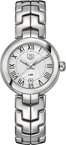 Tag Heuer Women's Link Silver Tone Roman Numeral Watch