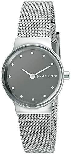Skagen Women's Freja Quartz Stainless Steel Mesh Casual Watch