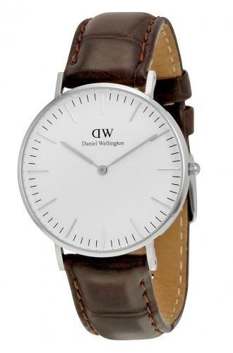 Daniel Wellington Women's York Analog Display Quartz Brown Watch