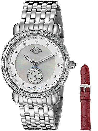 GV2 by Gevril Marsala - Sub Eye Womens Swiss Quartz Watch