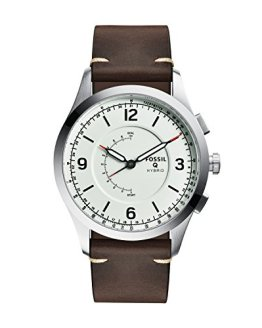 Fossil Hybrid Smartwatch - Q Activist Brown Leather