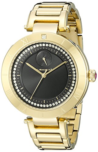 Vestal Women's The Rose Analog Display Quartz Gold Watch