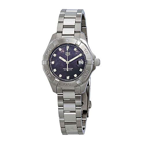 Tag Heuer Aquaracer Automatic Black Mother of Pearl Diamond Dial Ladies Watch