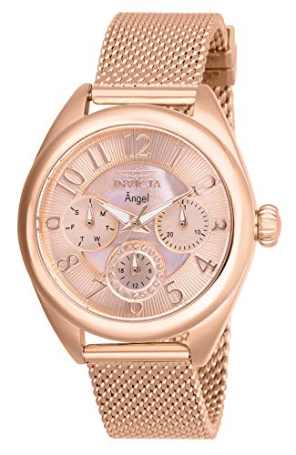 Invicta Angel Rose Gold Dial Ladies Watch