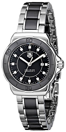 """TAG Heuer Women's """"Formula 1"""" Diamond-Accented Stainless Steel Watch"""