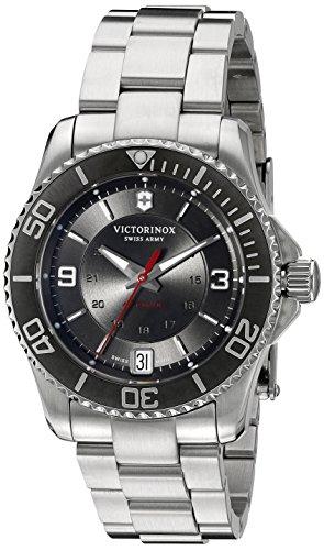 Victorinox Women's 'Maverick' Swiss Stainless Steel Automatic Watch