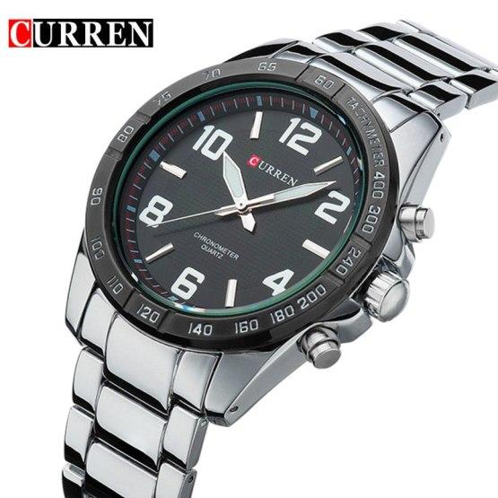 CURREN Mens Watches Top Brand Luxury Military Wrist Watches