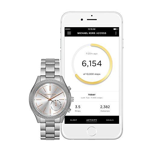 Michael Kors Access Hybrid Silver Slim Runway Smartwatch MKT4004