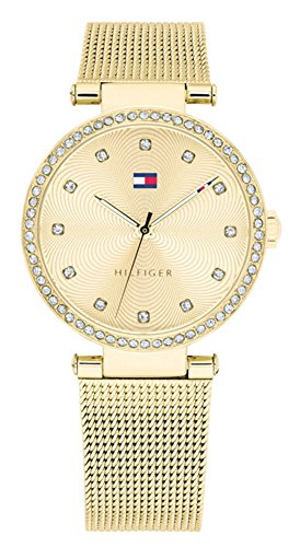 Tommy Hilfiger Gold Stainless Steel Watch