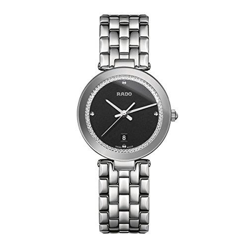 Rado Women's Florence 28mm Steel Bracelet & Case Sapphire Crystal Watch