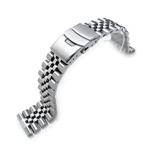 22mm Super Jubilee 316L Stainless Steel Watch Band