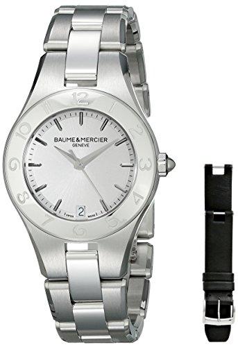 Baume & Mercier Women's Linea Analog Display Quartz Silver Watch