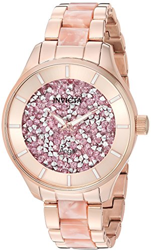 Invicta Women's Angel Quartz Watch with Stainless-Steel Strap, Two Tone
