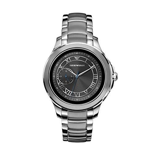 Emporio Armani Men's Stainless Steel Touchscreen Smartwatch