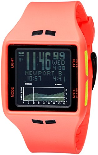 Vestal Unisex Brig Digital Display Quartz Orange Watch