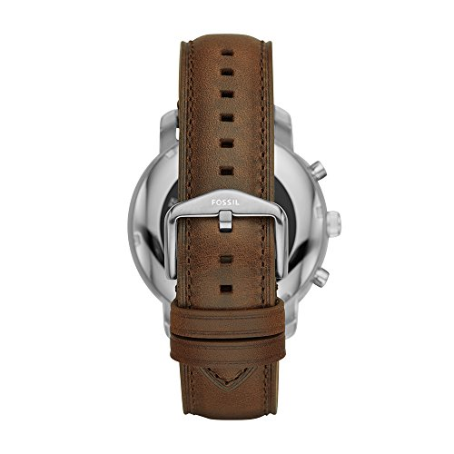 Fossil Q Men's Stainless Steel and Leather Smartwatch what's more, click on System Updates to check whether