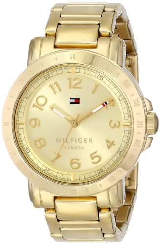 Tommy Hilfiger Women's Gold-Plated Watch