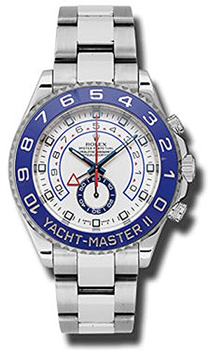 Rolex Yacht master II 44mm White Dial Stainless Steel Men's Watch