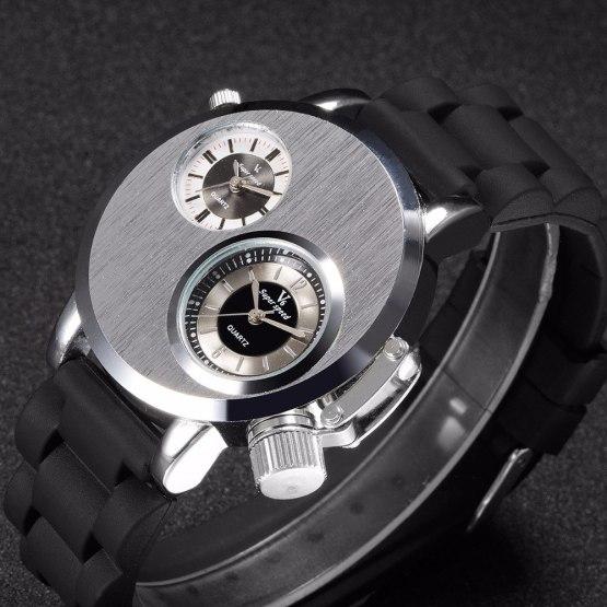 V6 Fashion Brand Watches for Men Sports Silicone Straps Wrist Watch