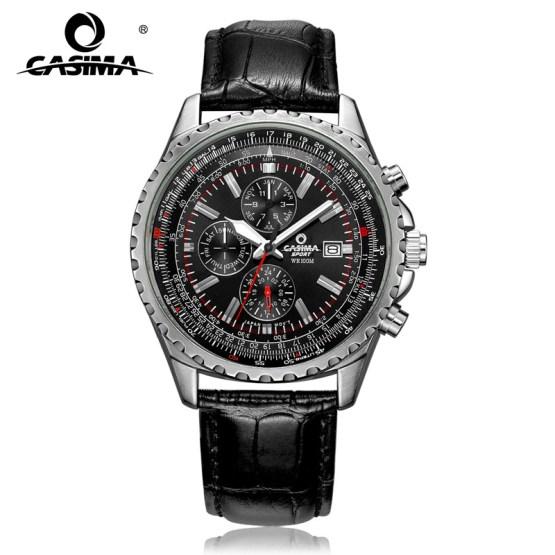 CASIMA Luxury Brand Watches Men Fashion Classic Sport Mens Quartz Wrist Watch