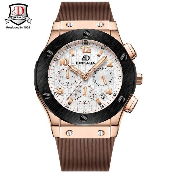 2019 Men Business Watches Top Brand Luxury Waterproof Chronograph Watch
