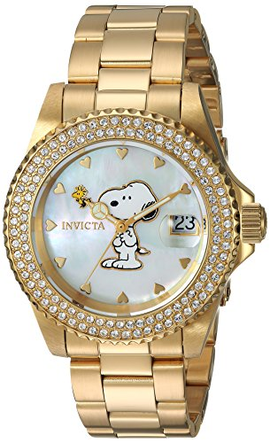 Invicta Women's 'Character Collection' Quartz Gold-Tone Watch