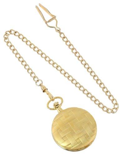 Charles Hubert Gold-Plated Mechanical Pocket Watch Charles Hubert 3841-GR Gold-Plated Mechanical Pocket Watch