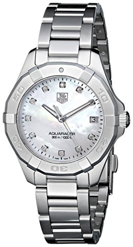 TAG Heuer Women's Aquaracer Diamond-Accented Stainless Steel Watch