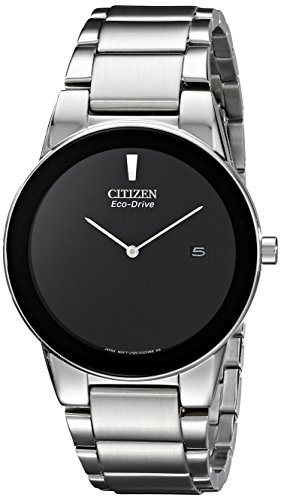 Citizen Men's Eco-Drive Axiom Stainless Steel Watch