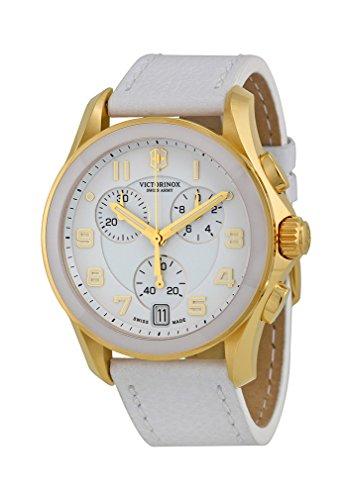 Victorinox Women's Gold-Tone Accented White Watch