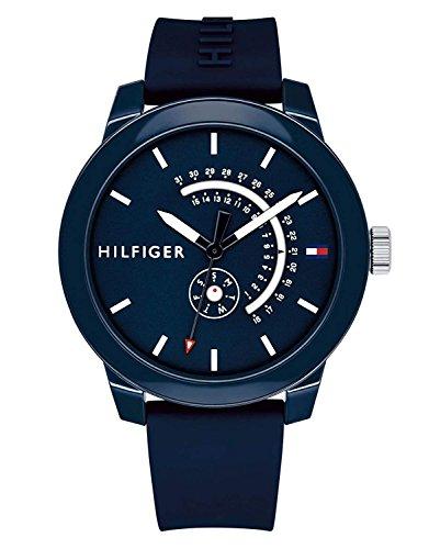 Tommy Hilfiger Blue Rubber Watch